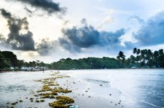 Toco Beach Trinidad and Tobago sunset view