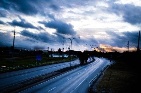 A Highway Sky