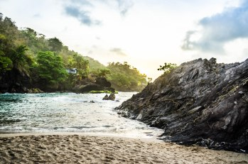 Under the resort beaches of trinidad and tobago